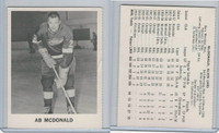 1965 Coca Cola Hockey, Ab McDonald, Detroit Red Wings