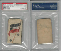 T177 American Tobacco, National Flag Domino, 1910, Germany, PSA 1