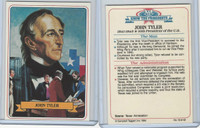 1984 Campbell Taggart, Know The Presidents, #10 John Tyler