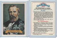 1984 Campbell Taggart, Know The Presidents, #19 Rutherford B. Hayes
