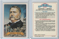 1984 Campbell Taggart, Know The Presidents, #21 Chester A. Arthur