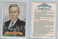 1984 Campbell Taggart, Know The Presidents, #27 Woodrow Wilson