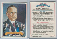 1984 Campbell Taggart, Know The Presidents, #29 Calvin Coolidge