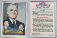 1984 Campbell Taggart, Know The Presidents, #32 Harry S. Truman