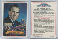 1984 Campbell Taggart, Know The Presidents, #36 Richard M. Nixon