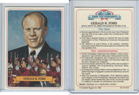 1984 Campbell Taggart, Know The Presidents, #37 Gerald R. Ford