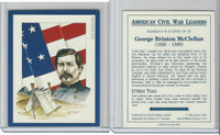 1991 Victoria, American Civil War Leaders, #4 George McClellan