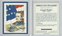 1991 Victoria, American Civil War Leaders, #8 Joseph Hooker