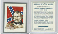 1991 Victoria, American Civil War Leaders, #11 Albert Sidney Johnston