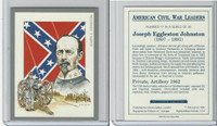 1991 Victoria, American Civil War Leaders, #17 Joseph Johnston