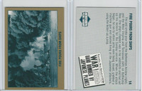 1992 Tuff Stuff, Remember Pearl Harbor, #14 Fire Pours from Ships