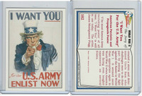 1992 Pacific, World War II, #102 I Want You for the U.S. Army