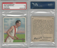 T218 Mecca/Hassan, Champions, 1910, Fred Meadows, Runner, PSA 3 VG