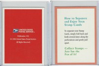 1994 US Postal Service, Stamp Cards,  How To Separate