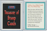 1994 US Postal Service, Stamp Cards,  Treasury Of Stamp Cards