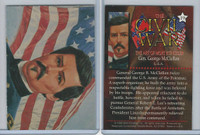 1996 Mort Kunstler, Civil War, #19 General George McClellan