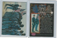 1997 Mort Kunstler, Blue & The Gray, #19 Col. Robert Shaw and the 54th Mass.