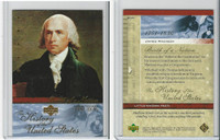 2004 Upper Deck, History of USA, # BN6 James Madison