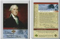 2004 Upper Deck, History of USA, # BN7 George Washington