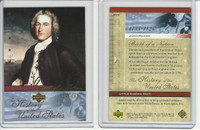 2004 Upper Deck, History of USA, # BN8 John Adams