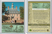 2004 Upper Deck, History of USA, # CD1 Williamsburg (Virginia)