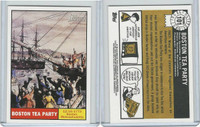 2009 Topps, American Heritage Heroes, #101 Boston Tea Party