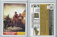2009 Topps, American Heritage Heroes, #106 Washington Crosses the Delaware