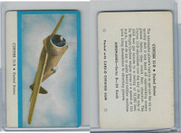 R112-5b Leaf, Card-O Aeroplanes - Series D, 1940's, Curtiss 21-B