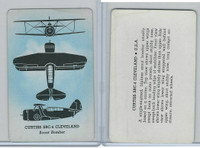 R112-12a Leaf, Card-O Aircraft Recognition, 1940's, Curtiss SBC4