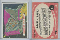 1967 Topps, Target Moon - Salmon Back, #19 Diagram of Spaceship