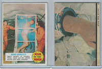 1969 Topps, Man On The Moon 1st Series, #21 Zero Gravity