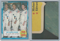 1969 Topps, Man On The Moon 1st Series, #23 First Manned Mission