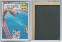 1969 Topps, Man On The Moon 1st Series, #29 Helicopter Recovery
