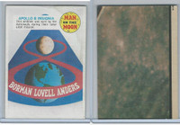 1969 Topps, Man On The Moon 1st Series, #51 Apollo 8 Insignia
