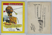 1970 Fleer, Ripley's Believe It Or Not, Chief Monguba, Congo