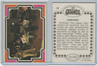 1973 Donruss, The Osmonds, #28 Osmonds