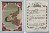 1973 Donruss, The Osmonds, #53 Donny