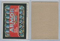 1973 Topps, Wacky Packs, 4th Series, Armor Hot Dogs