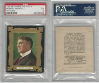 T25 Between The Acts, Actors, 1911, Robert Mantell, PSA 5 EX