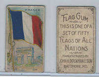 E18-1C John Dockman, Flag Chewing Gum, 1910, France