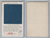 F213-3 Coca Cola, Nature Study, Earth, 1920's, #5 Big & Little Dippers