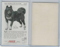 F213-3 Coca Cola, Nature Study, Mans Friends, 1920's, #2 Dog, Arctic Husky