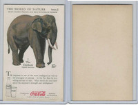 F213-3 Coca Cola, Nature Study, Mans Friends, 1920's, #7 Elephant