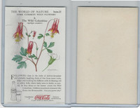F213-3 Coca Cola, Nature Study, Wild Flowers, 1920's,  #4 Columbine