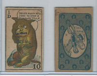 W Strip Card, Hee Haw Maud, 1920's, 1D Never Again Will I Try