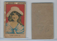W Card, Strip Card, Universal Movie Stars, 1920's, #6 June Caprice