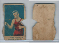 W Card, Strip Card, Boxing, 1920's, #8 Mike Odowd