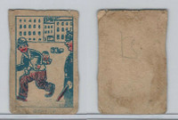 W Card, Strip Card, Universal Comic, 1920's, Beat It