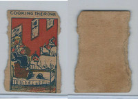 W Card, Strip Card, Universal Comic, 1920's, Cooking Their Own