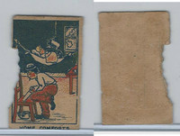 W Card, Strip Card, Universal Comic, 1920's, Home Comforts